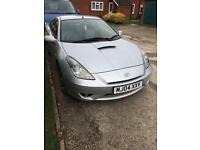 Silver celica for sale well looked after car