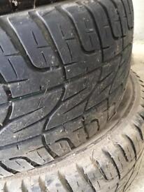 Pirelli scorpion tyres x4