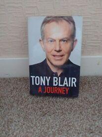 Tony Blair autobiography