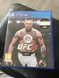 UFC3 PlayStation4