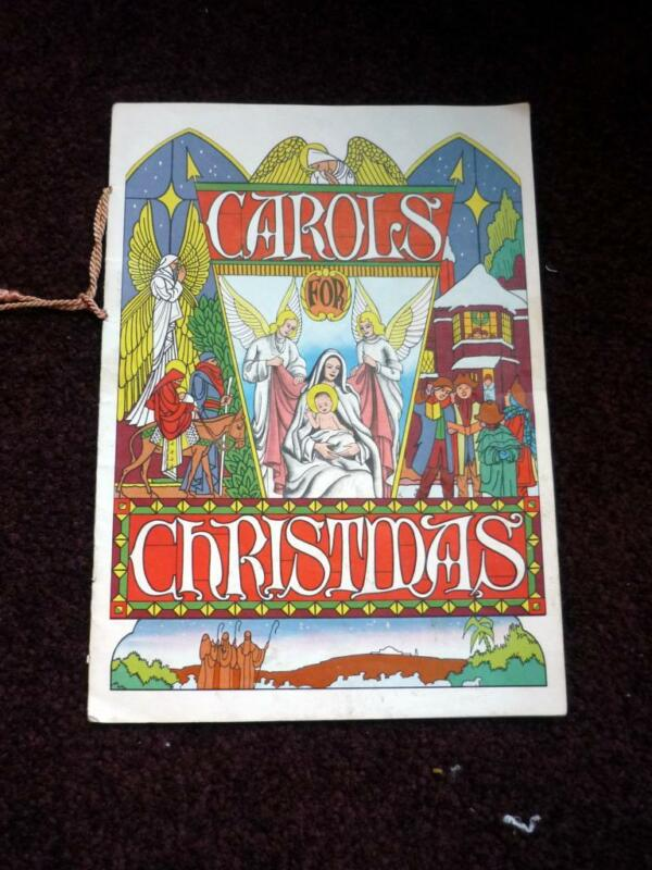 VINTAGE 1950S CAROLS FOR CHRISTMAS BOOKLETS ADVERTISING CERTIFIED HEATING