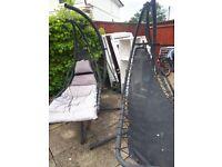 Garden hammock swinging chairs