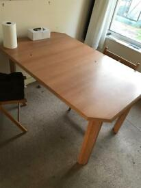 Table and chaird