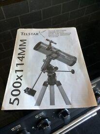 Telstar Short Tube Newtonian Reflector Telescope