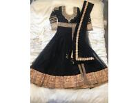 Absolutely stunning black Asian frock