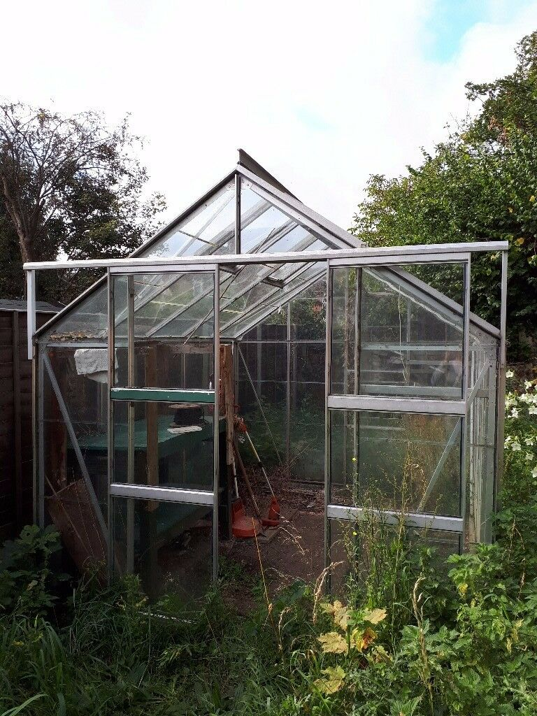 Glass and Aluminium Greenhouse