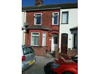 North Lowestoft - very large 3 seperate double bedroom mid terrace with garden.