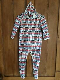 Cath Kidston Guards Print onesie and hat set 12-18Mths