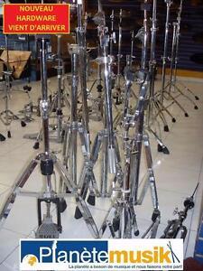 Nouveau arrivage de hardware usagé - PLEIN D'AUBAINE - hh stand,cymb boom stand,snare stand !