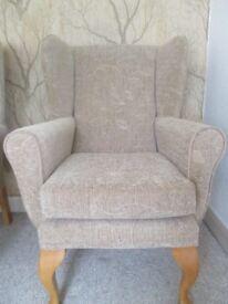 Armchair / High Back Chair / Elderly High Seat Chair / Fireside Chair