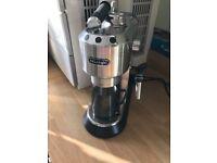 Delonghi coffee machine - latte, expresso,cappucino