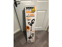 Brand new Worx gt30 WG163e 20v grass trimmer 20 volt strimmer with 1 battery and charger
