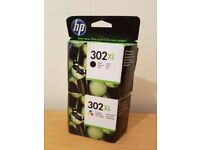 HP 302XL High Yield Black + Tri-colour - Cyan/Magenta/Yellow Original Ink Cartridge