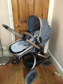 Mothercare rose gold orb pushchair