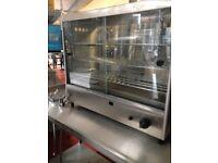 Parry AGPC1 LPG Gas Pie Cabinet