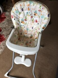 Graco Baby High Chair Feeding Table