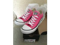 New – CONVERSE TRAINERS – CT OX / Low Top – Size 6 – colour: PINK PAPER