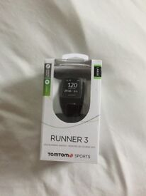 TOMTOM RUNNER 3 GPS RUNNING WATCH BLACK/GREEN