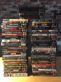 69 DVD's Films Various titles JOB LOT BARGAIN