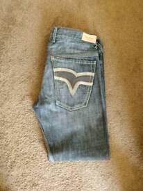 Mens Pepe denim jeans. Worn look. Size: W36/LStem 32.