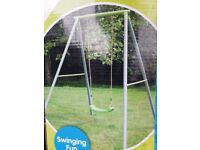 NEW TP Toys Single Metal Swing with Swing Seat
