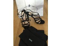 Genuine designer Prada Shoes / heels Prada size 40 UK 7