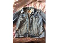 Woman hollister denim jacket