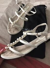 Chanel sandals (40)used