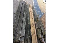 WOOD for free! Decking timber - is on the driveway ready for anyone to collect. Ideal firewood.