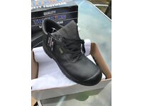 Size 10 steel toe boots