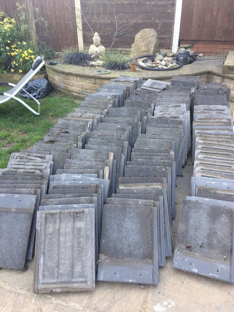 Rus Grampian Grey Roof Tiles