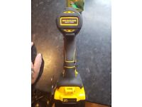 new 18v impact driver with new 5 amp battery