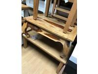 Mango solid wood coffee table