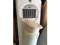 CHALLENGE SLIMLINE PORTABLE AIR CONDITIONER WITH REMOTE
