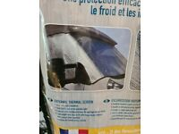 Motorhome External Thermal Windscreen Cover