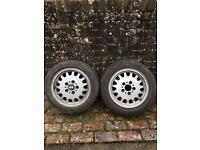 3 BMW E36 15 inch drift wheels. Track m3