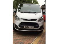 2014/64 FORD TRANSIT CUSTOM LIMITED 2.2 TDCI 125 PS MANUAL