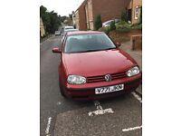 Volkswagen Golf SE Car for Sale : Manual, Petrol, 4 Cylinder, 1595cc, MOT until May