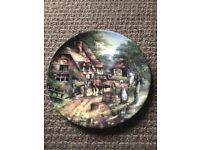 Wedgwood 'the apple pickers' country days plate