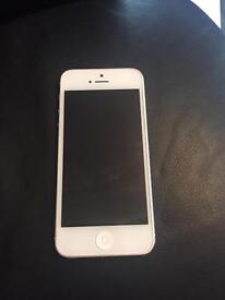 IPHONE 5 silver 16gb good condition