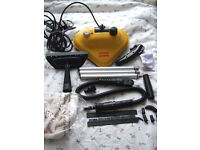 Steam-Easy Cleaner Steam Mop with Many Attachments - Mains powered