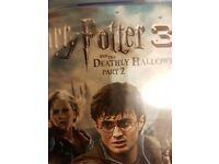 Harry potter deathly hallows part 1 and 2 blu ray