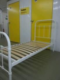 John. Lewis single metal bed