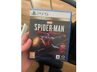 Spider man Miles PS5