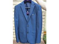 GENTS PROM SUIT FROM NEXT IN TRENDY BLUE COLOUR