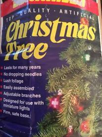 1970's Vintage artificial Christmas Tree