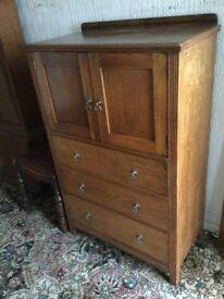 oak cupboard (tallboy)
