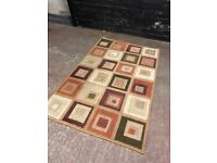 Nice quality rug in good condition .