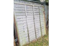SH Wavey-edge Fence Panels