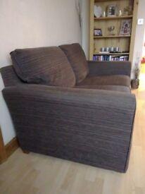 Lovely brown sofa